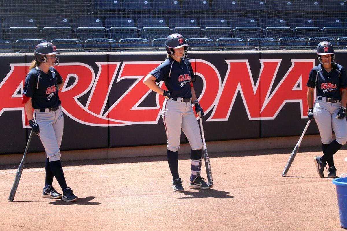 Ole Miss vs. Arizona: On Taryne Mowatt, baseball backgrounds, good manners and great catches