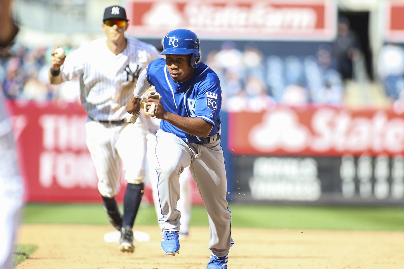 Yankees acquire outfielder Terrance Gore from Royals
