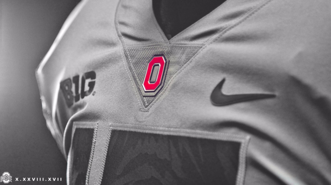 Feast your eyes on Ohio State s gray unis and new LeBron cleats that ll be  worn vs. Penn State fa6eb9e3c