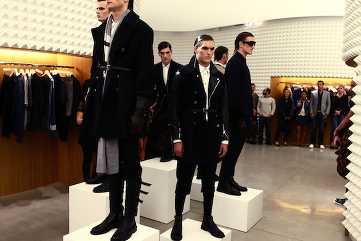 """Available for a limited time: Biker Ken! Image via<a href=""""http://latimesblogs.latimes.com/alltherage/2010/05/phillip-lim-makes-menswear-the-focus-of-an-intimate-gathering-at-his-west-hollywood-boutique.html""""> All the Rage</a>."""