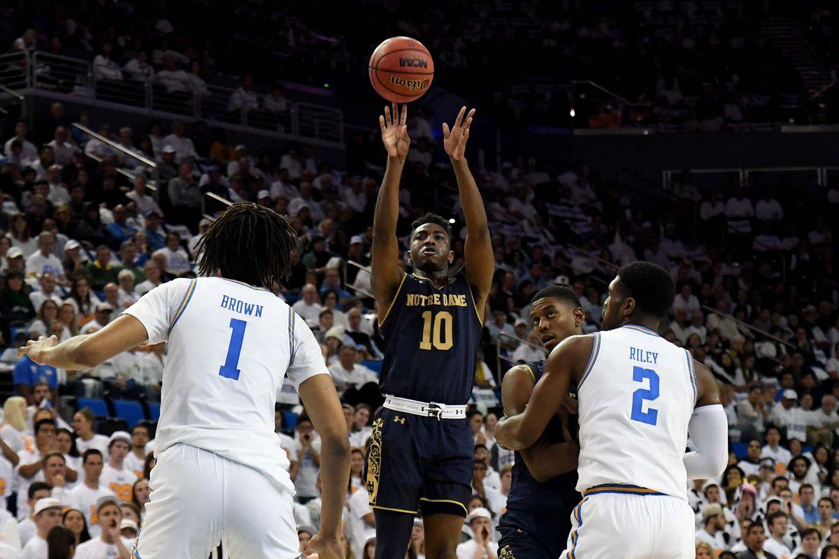 NCAA Basketball: Notre Dame at UCLA