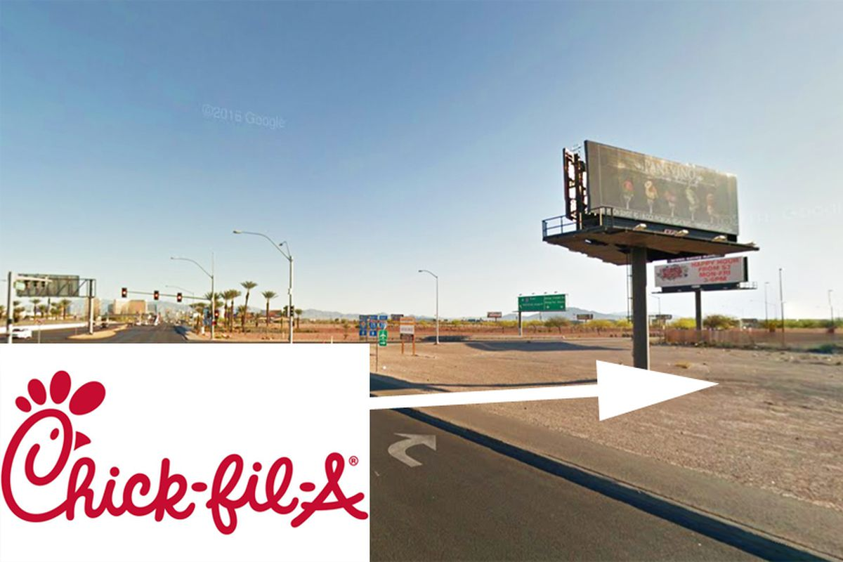Chick Fil A Back On Target On Las Vegas Boulevard Eater Vegas