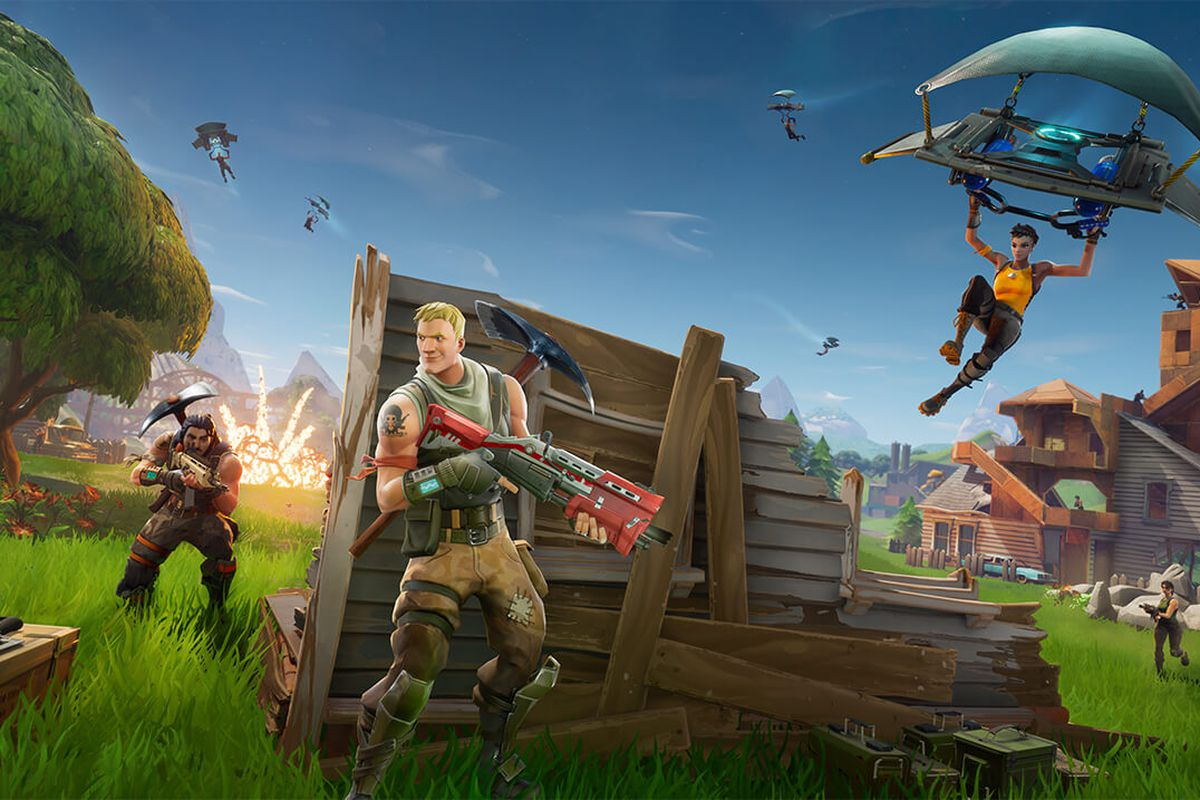 Fortnite Battle Royale Is Coming To Ios And Android The Verge