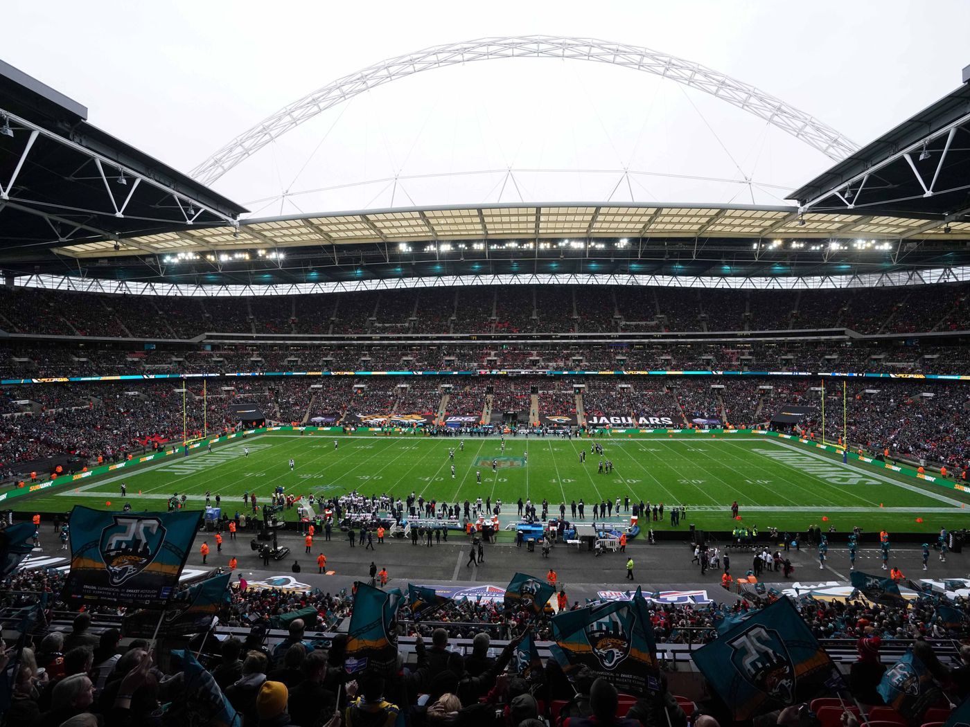 2020 Nfl Schedule Jaguars Will Play Two Home Games In London Big Cat Country