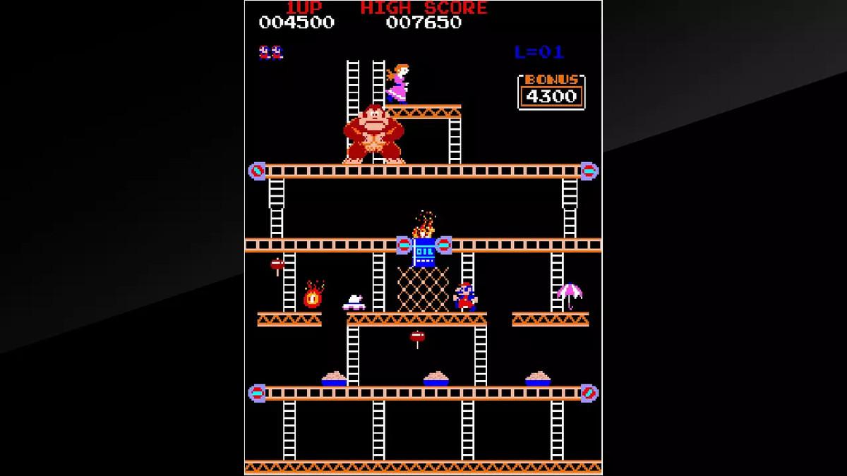Donkey Kong Arcade Archives on Nintendo Switch
