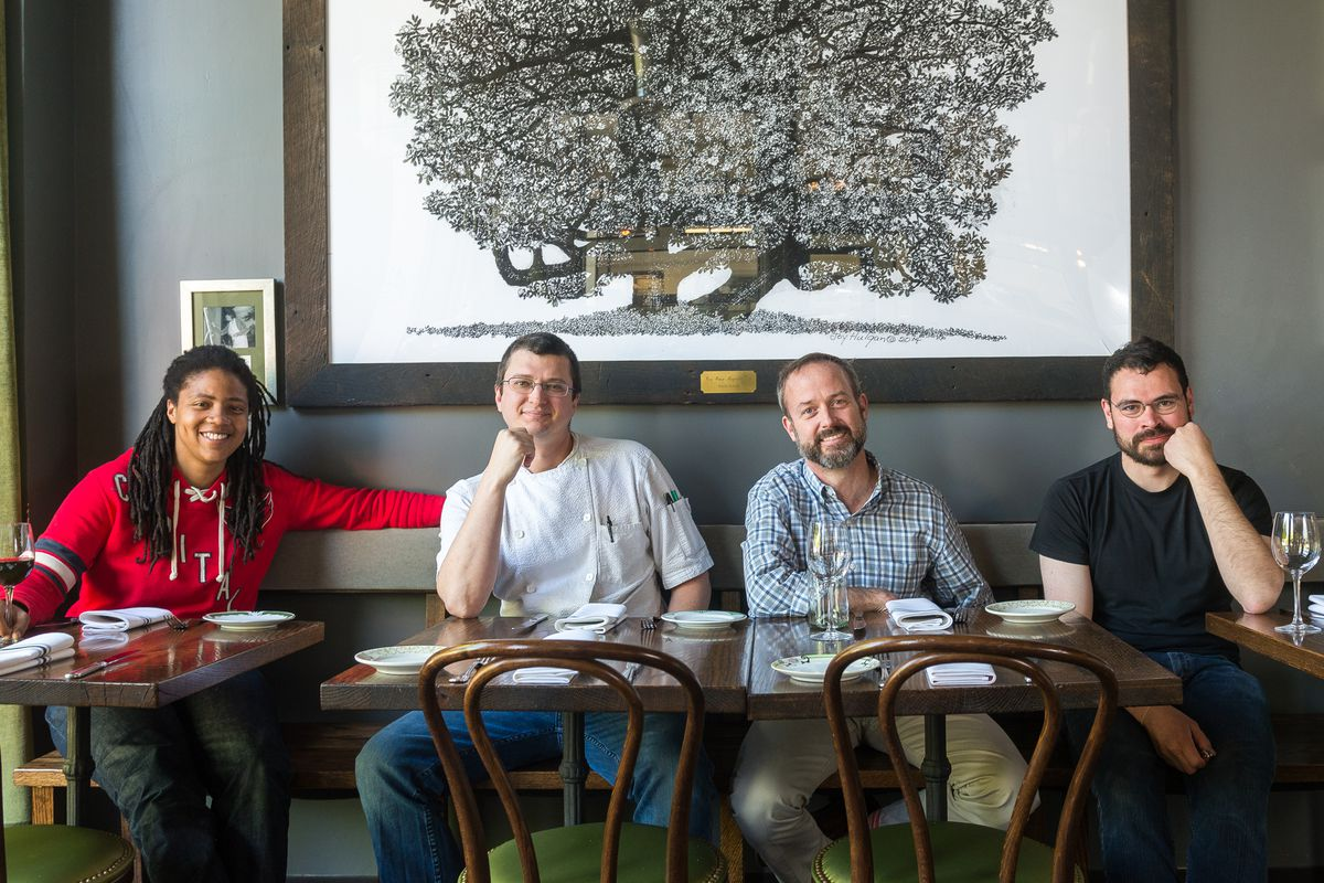 Macon Bistro Larder Serves Grown Up Food In Chevy Chase