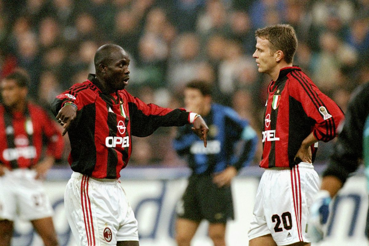 FLASHBACK - George Weah's Ridiculous Goal - The AC Milan ...