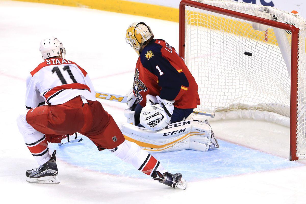 NHL: Carolina Hurricanes at Florida Panthers