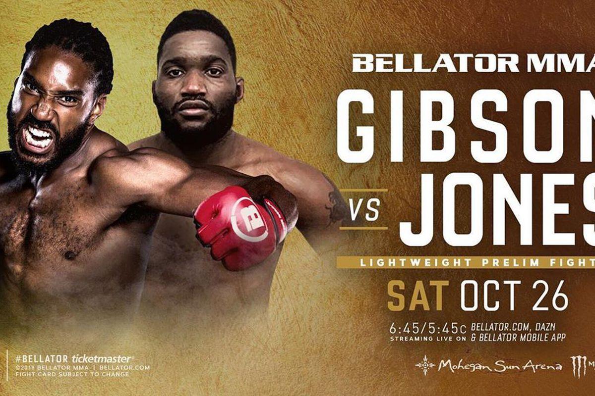 Lance Gibson Jr. Dominic Jones Bellator 232 Douglas Lima Rory MacDonald Julia Budd Grand Prix MMA News UFC