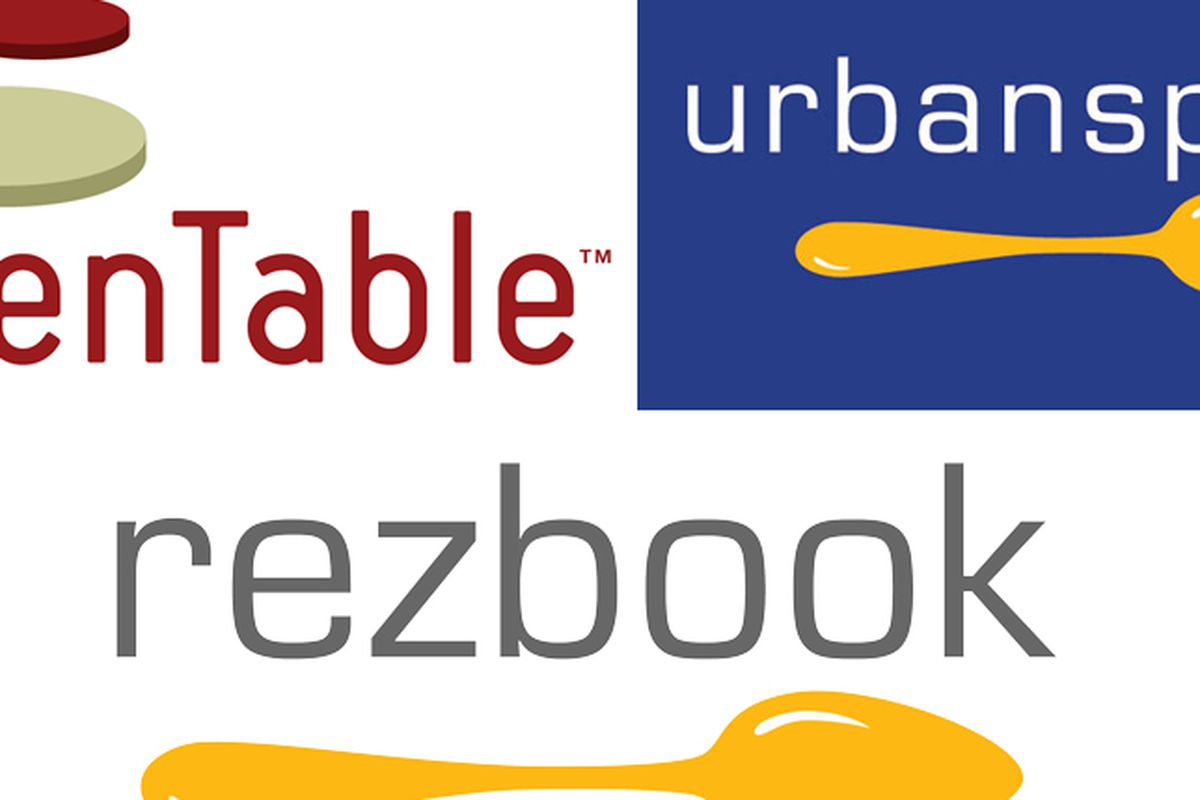 OpenTable To Power Reservations On Urbanspoon Acquires Rezbook - Open table reservation system