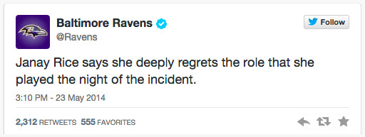 Ravens tweet
