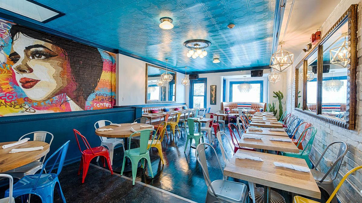 Shaw S Color Soaked Cortez Aims To Bring Happy Vibes To D C Eater Dc