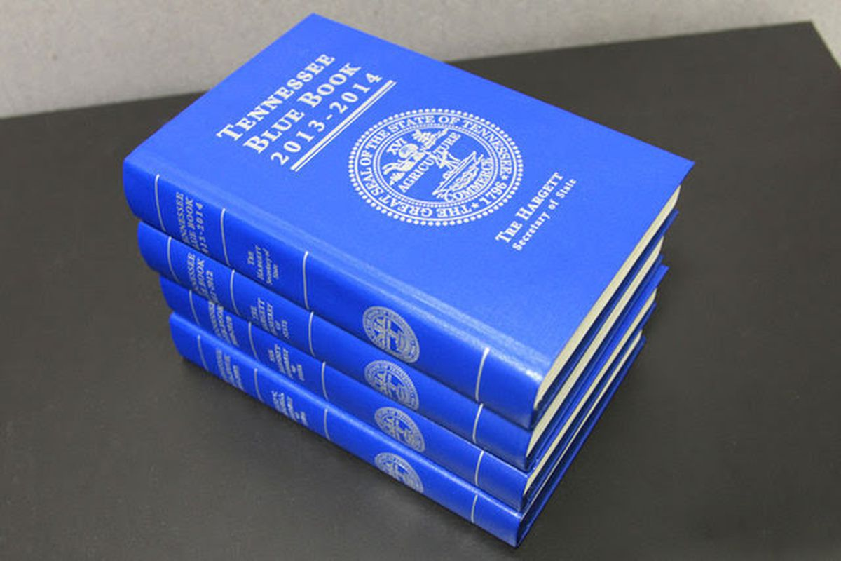 The Tennessee Blue Book, a manual of useful information about the state and its government, is now a resource for K-12 educators and students via online curriculum based on the biennial tome.