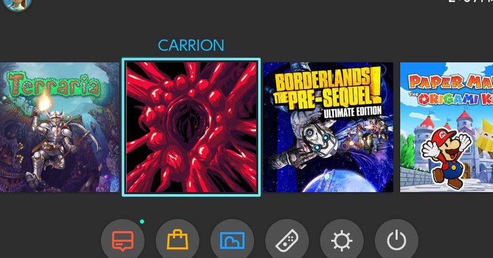 Carrion S Nintendo Switch Icon Is A Choice Polygon