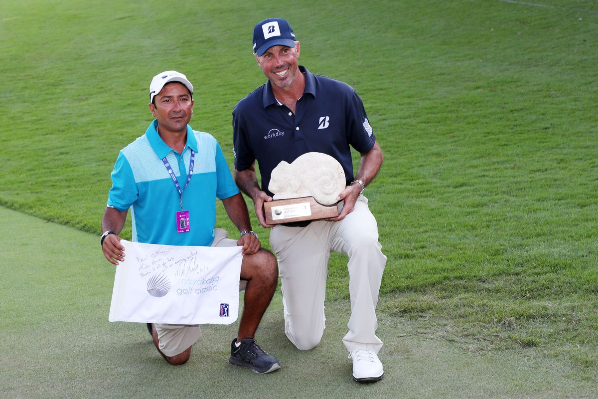 Matt Kuchar stiffing his caddie was horrible. His response to the ... e110fb520f31