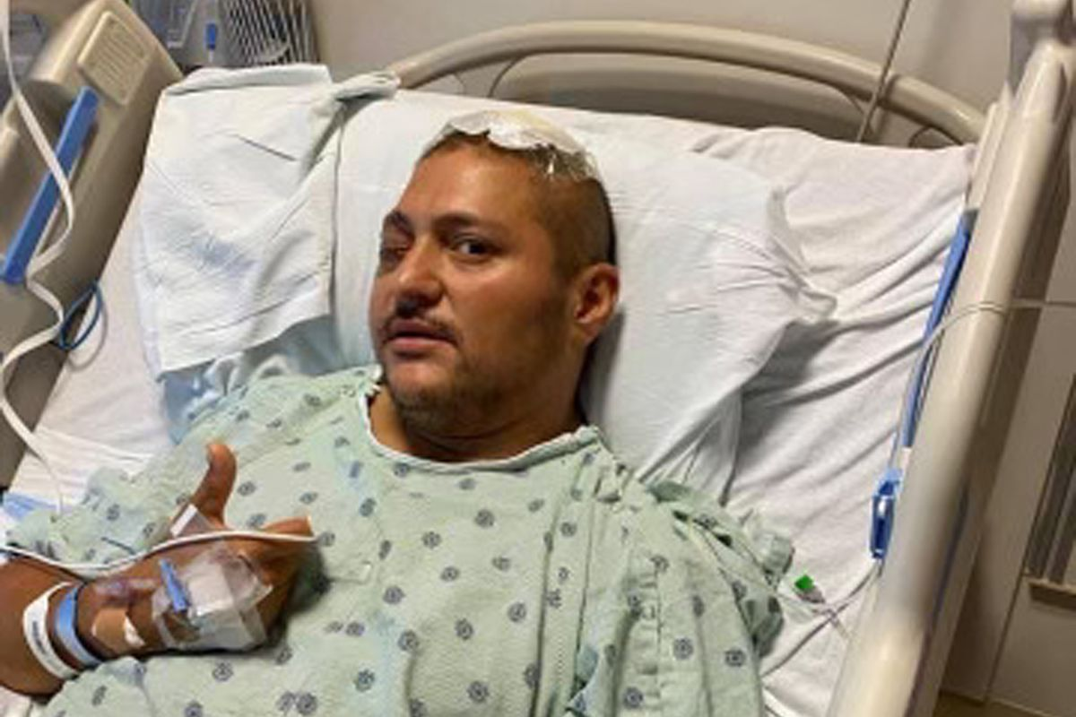 Chicago police officer Carlos Yanez Jr. is recovering from wounds he suffered when someone in a car he had pulled over opened fire on him and his partner, who was killed.