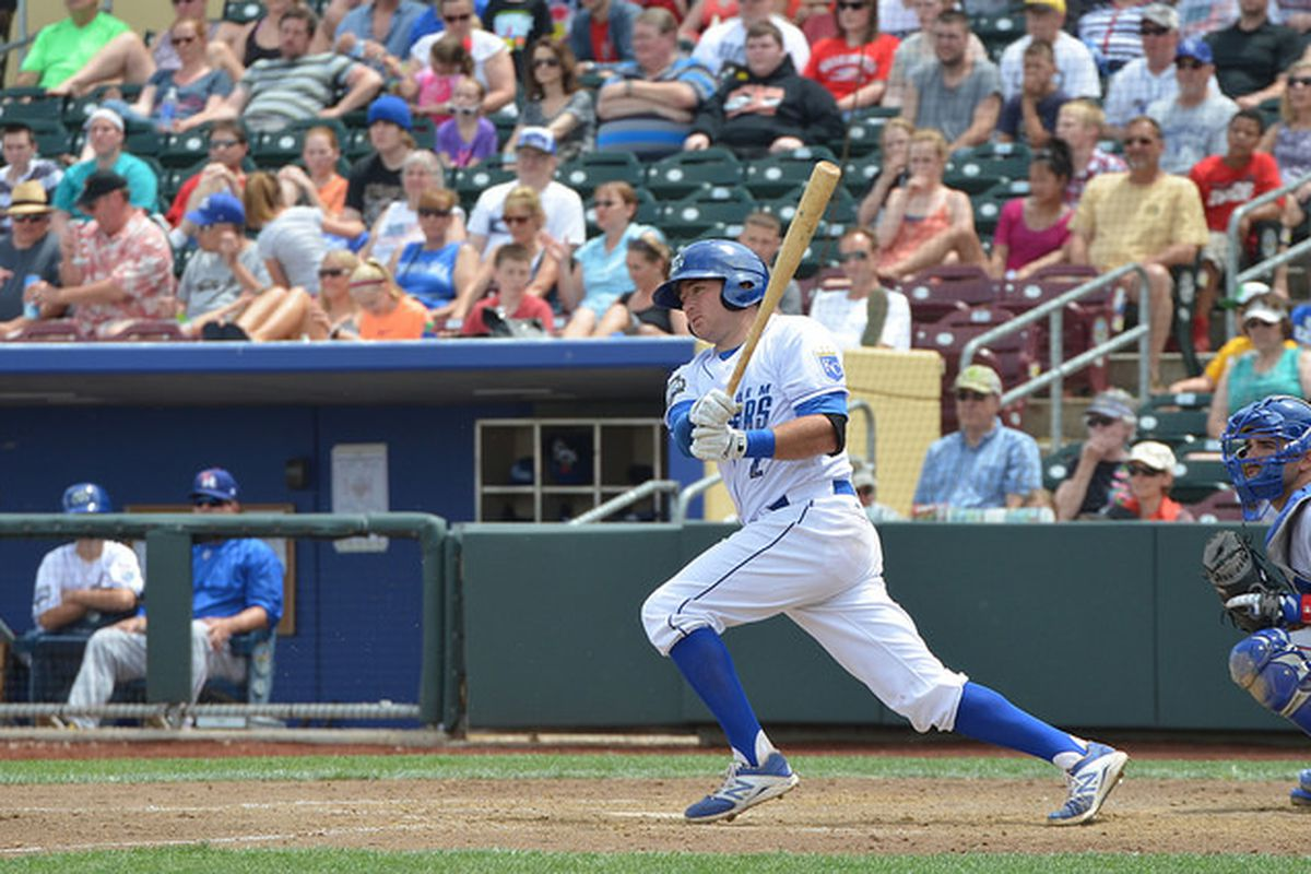 Brian Bocock in action for the Storm Chasers