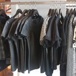Boxy tops by Rag & Bone, Ebony Eve, Theory, Sea, Maison Scotch and more for $60 and up.