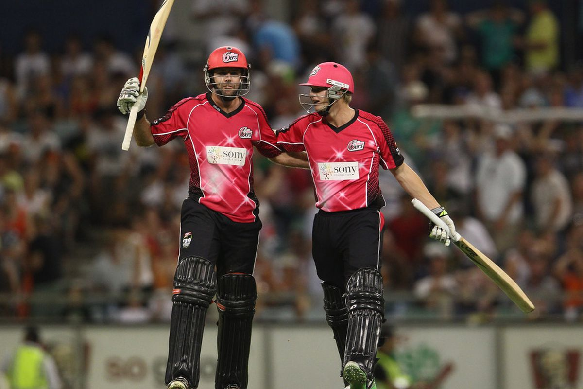 Did you know there is such a thing as the Sydney Sixers?  Neither did I.