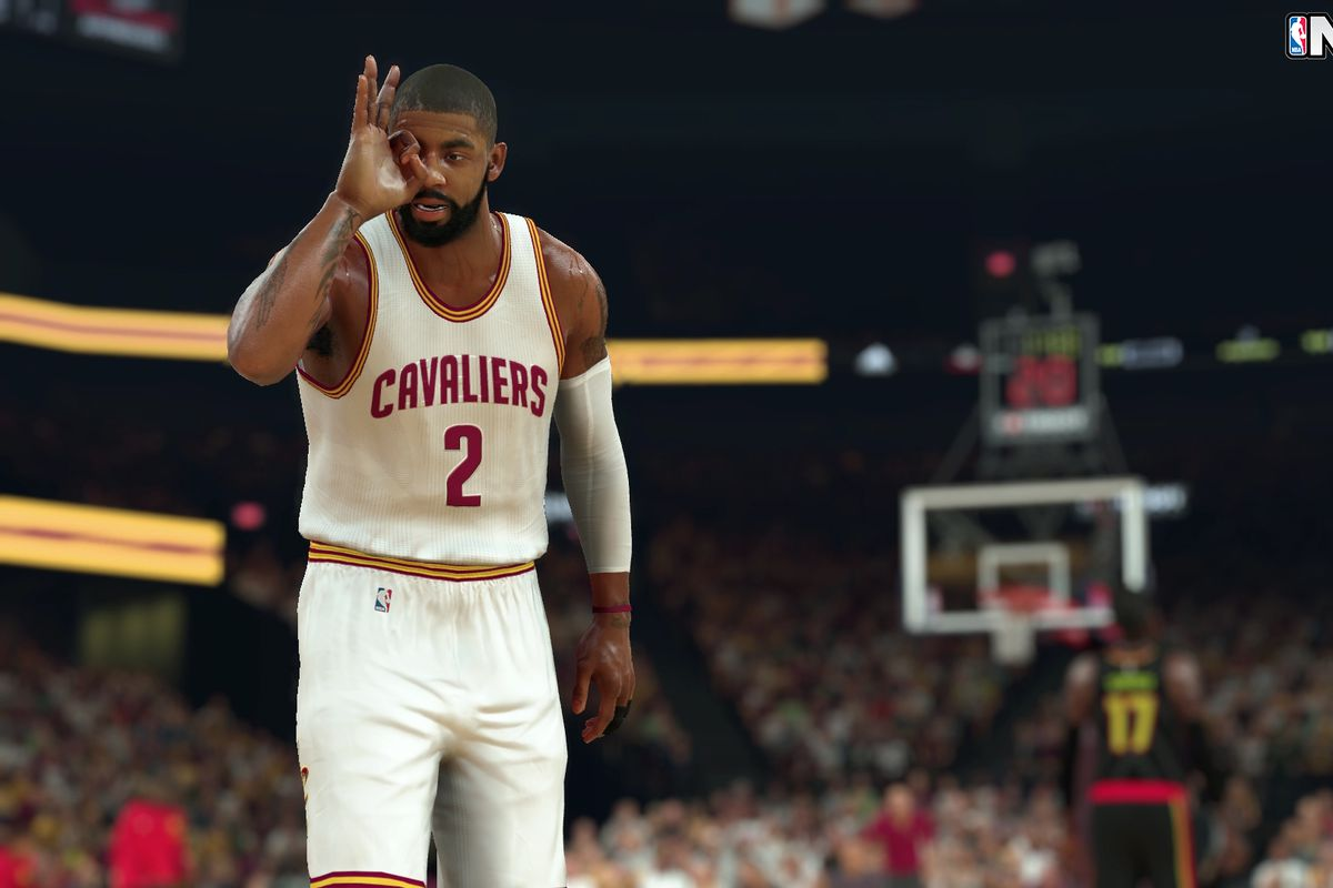 NBA 2K17 Kyrie Irving screenshot
