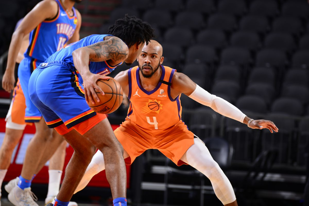 Oklahoma City Thunder v Phoenix Suns