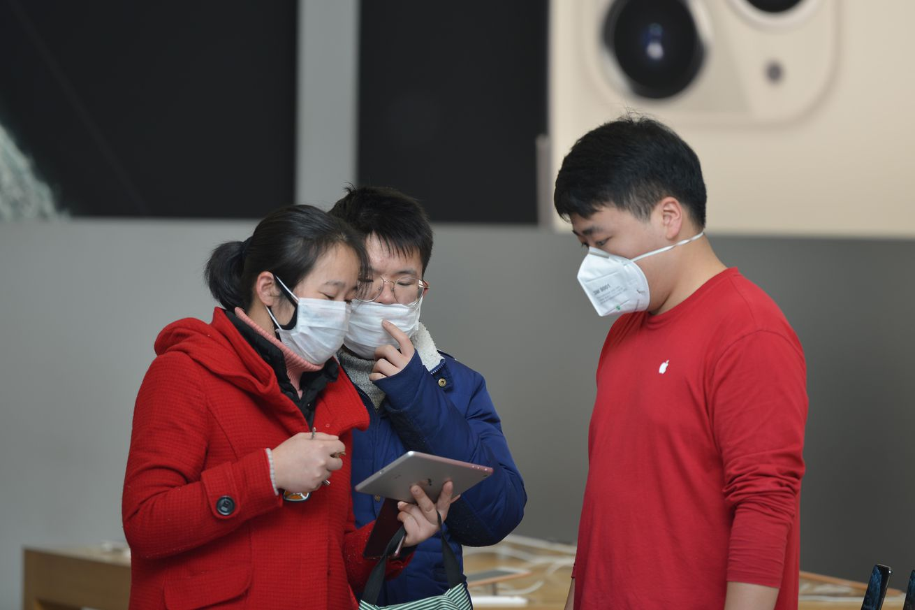 CHINA NANJING APPLE STORE SHUTDOWN