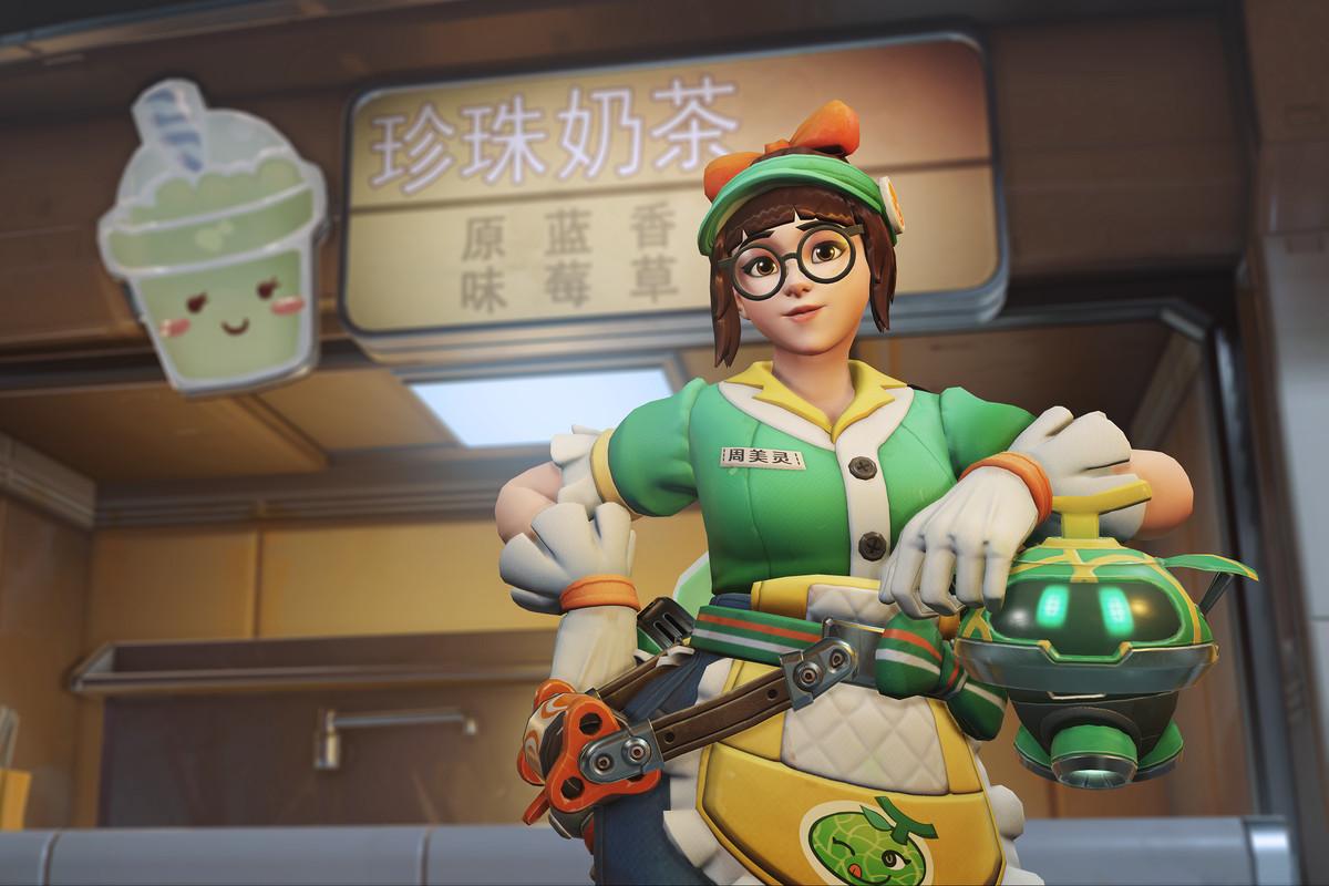 Overwatch - Honeydew Mei