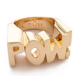 "Noir ring, <a href=""http://www.shopbop.com/pow-ring-noir-jewelry/vp/v=1/1539578377.htm?folderID=2534374302060434&fm=other-shopbysize-viewall&colorId=29109"">$65</a> at Shopbop"