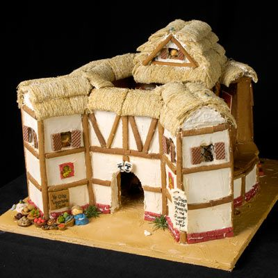 Gingerbread theater.