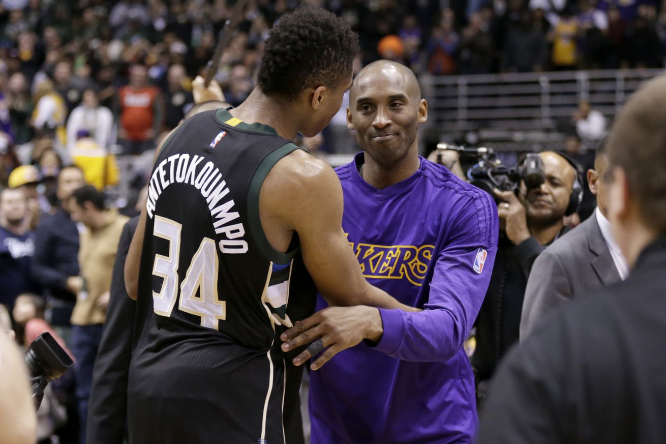 Mamba Mentality: How Giannis Took the Best of Kobe Bryant's Advice