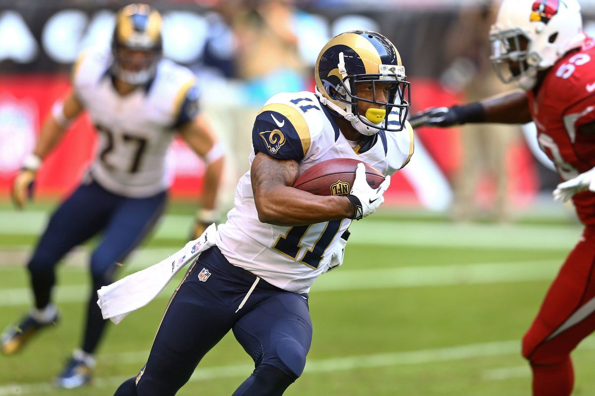 WR Tavon Austin of the St. Louis Rams was the eighth overall pick in 2013.