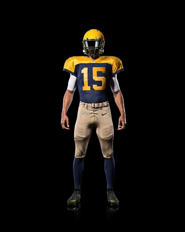 350c10797fd Packers unveiled alternate uniforms that are throwbacks to ...