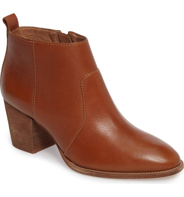 Madewell brown ankle boots