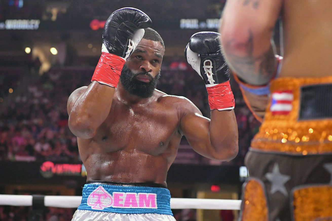 Woodley tattoos 'I love Jake Paul' on finger as he looks for rematch
