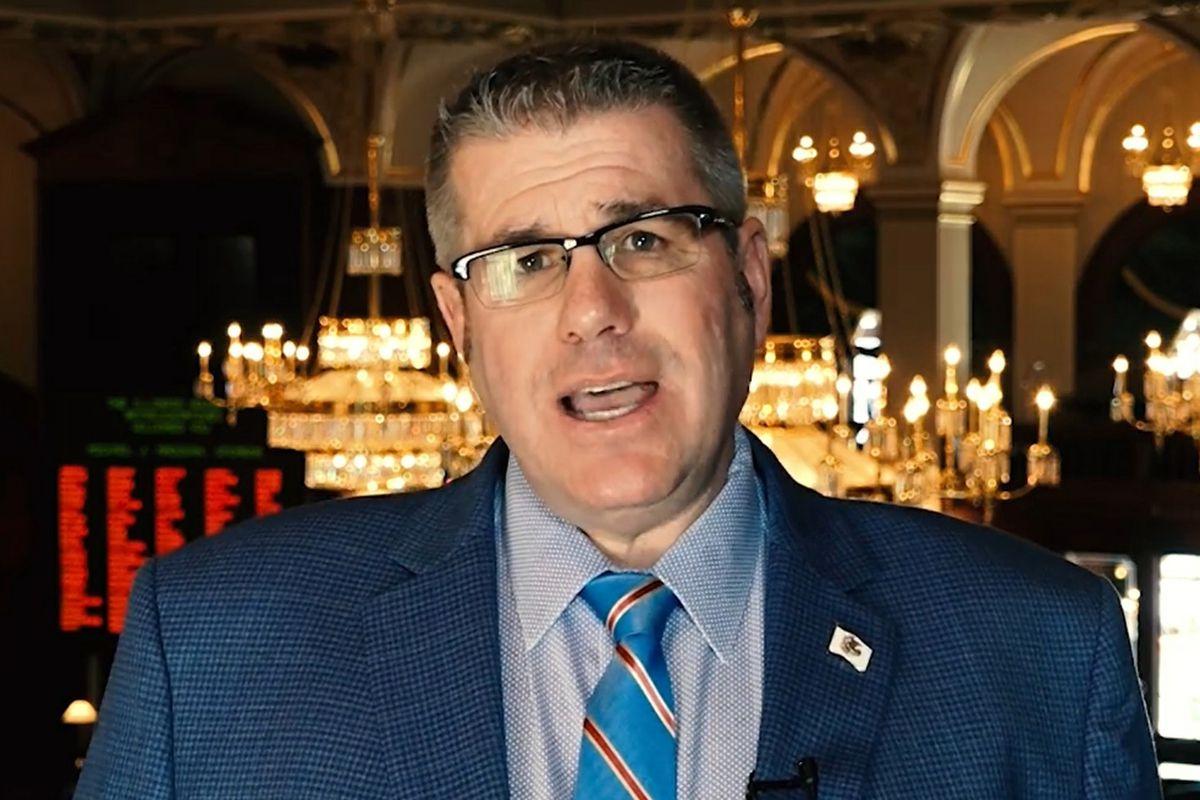 Then state Rep. Darren Bailey, R-Xenia, last year.