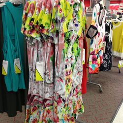 The dropped-waist floral dresses were not a favorite...