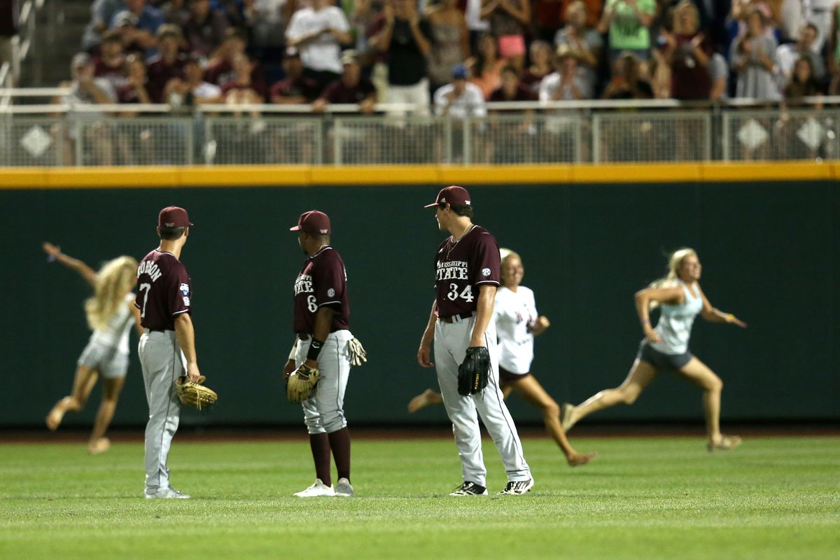 College World Series - Mississippi State v UCLA Game Two