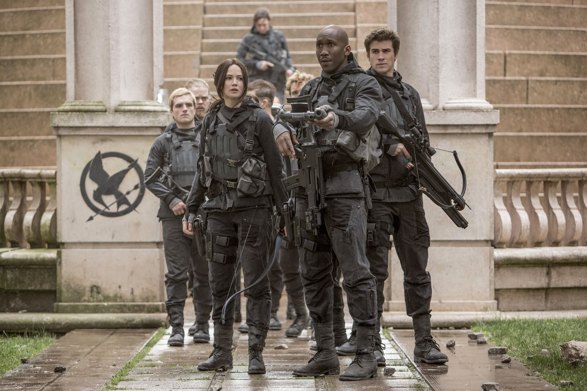 Katniss and her squad.