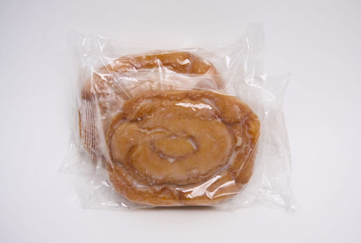 Honey Buns Calories: 280. Fat: 16g. Sodium: 210mg. Sugar: 16g. Avg. price: $1.06
