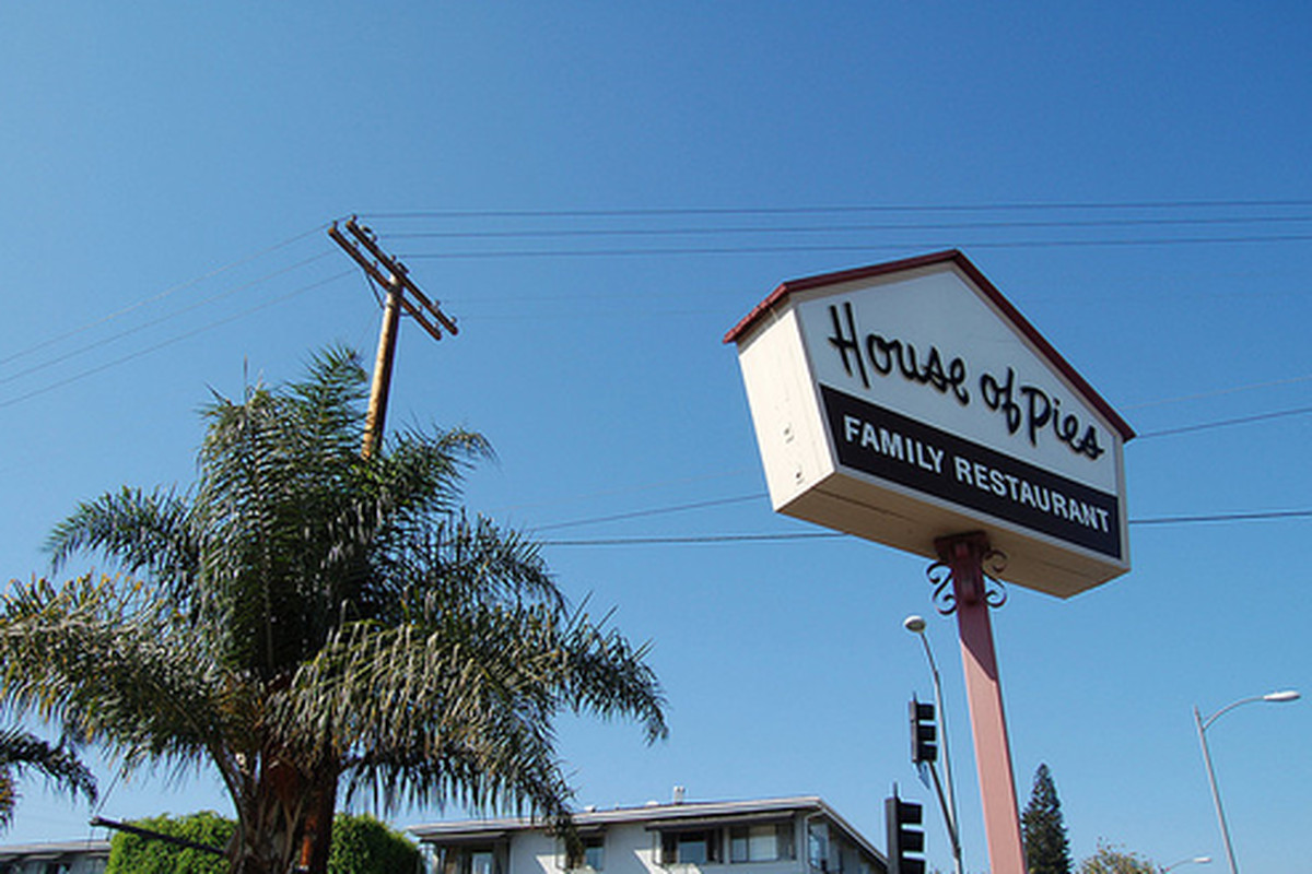 Outside House of Pies, Los Feliz.