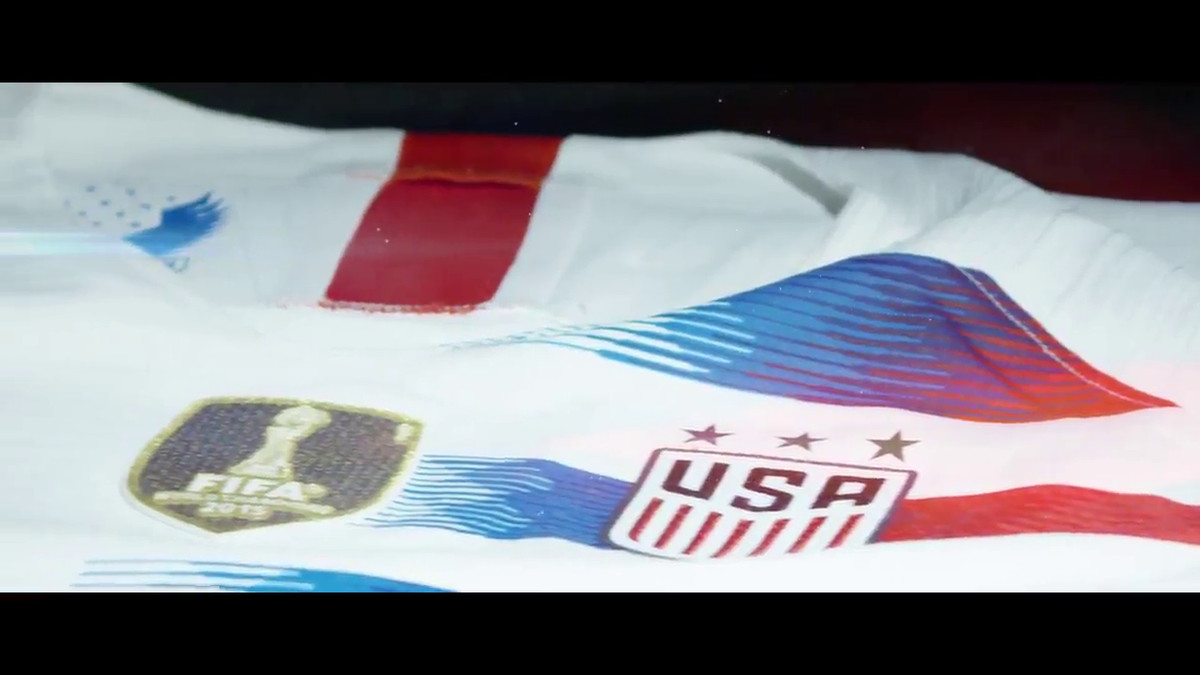 A closer look at the new USA kits - Stars and Stripes FC