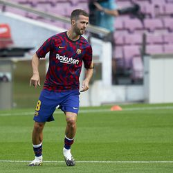 And Miralem Pjanic was in the squad for the first time