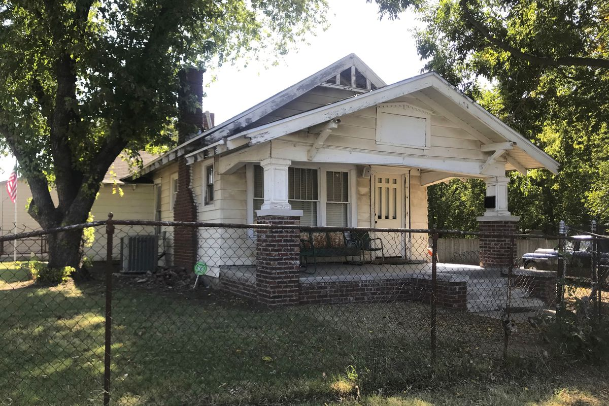 """The exterior of a Tulsa, Oklahoma, home used for the 1983 film """"The Outsiders,"""" based on S.E. Hinton's classic 1967 novel, was purchased by rapper Danny Boy O'Connor who converted it into The Outsiders House Museum."""