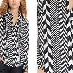 "<b>Michael Michael Kors</b> Mixed-Stripe Silk Shirt, <a href=""http://www1.macys.com/shop/product/michael-michael-kors-petite-top-long-sleeve-mixed-striped-silk-shirt?ID=801895&CategoryID=55613#fn=sp%3D1%26spc%3D17%26kws%3Dsilk%20blouse%26slotId%3D11"">$99."