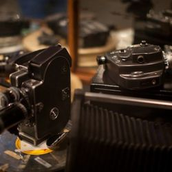 Vintage cameras for use