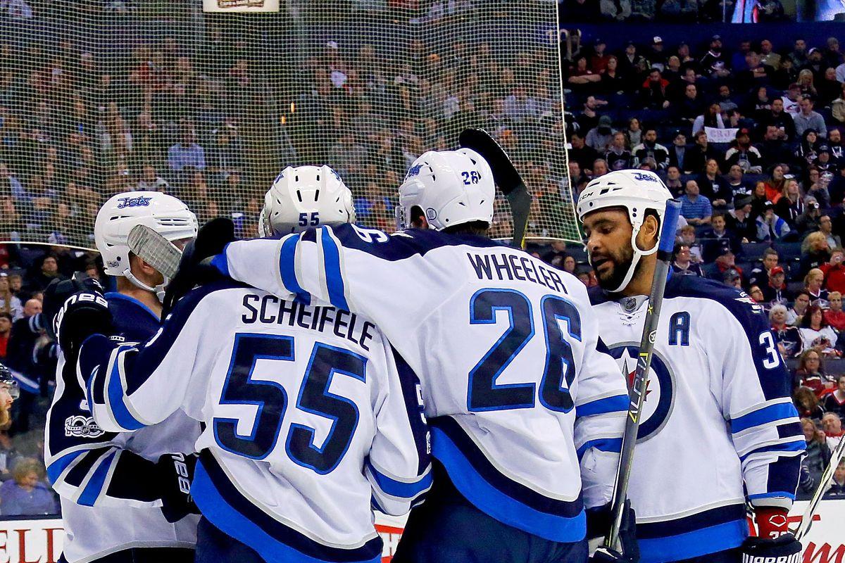 Winnipeg Jets v Columbus Blue Jackets