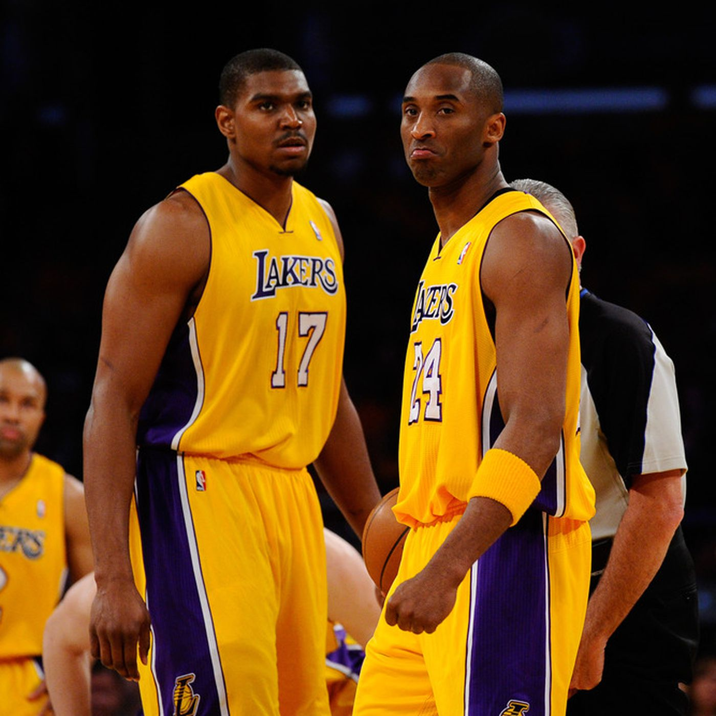 92a998774 Kobe Bryant and Andrew Bynum named to the 1st and 2nd All-NBA Teams ...