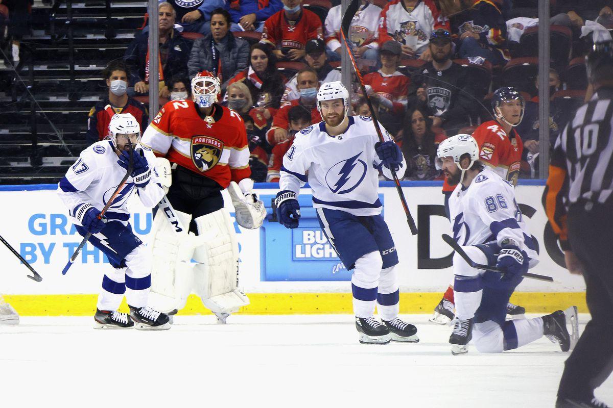 Tampa Bay Lightning v Florida Panthers - Game One