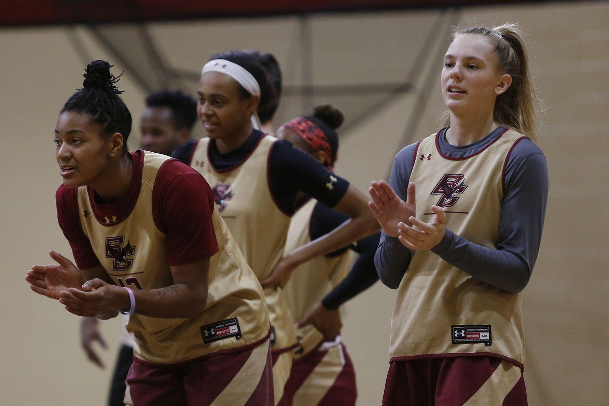 Boston College Women's Basketball Practice