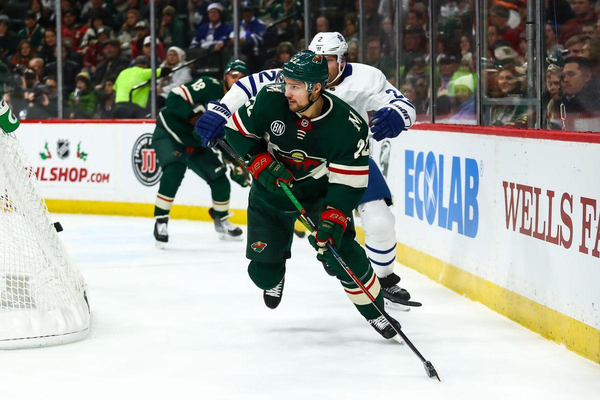 NHL: Toronto Maple Leafs at Minnesota Wild